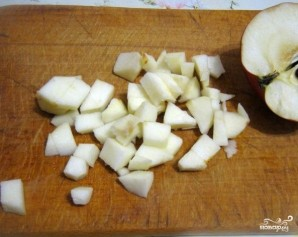 Салат с капустой и копченой колбасой - фото шаг 6