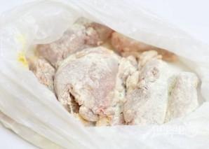 Кролик с грибами в белом вине - фото шаг 1