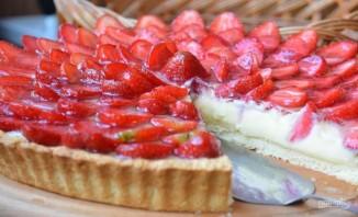 Клубничный тарт с заварным кремом - фото шаг 9