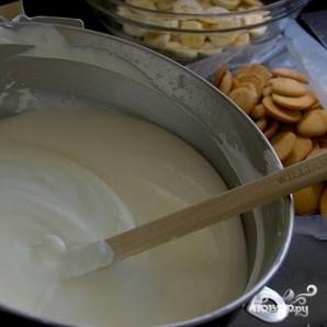 Сливочно-банановый пудинг - фото шаг 1