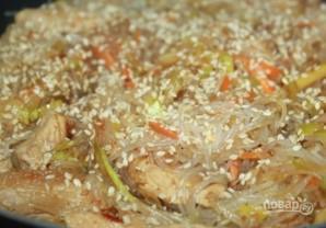 Китайская лапша со свининой - фото шаг 5