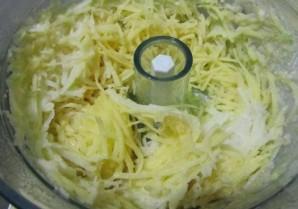 Запеканка из капусты и кабачков - фото шаг 2