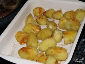 Печеный картофель в духовке - фото шаг 8