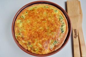Быстрый куриный пирог со шпинатом и грибами - фото шаг 12