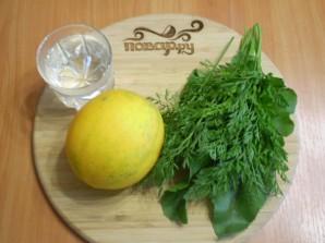 Зеленый коктейль с дыней - фото шаг 1