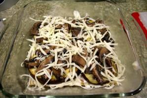 Лазанья с овощами и грибами - фото шаг 6