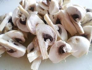Перец, фаршированный грибами и рисом - фото шаг 2
