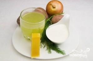 Картофельный суп со сливками - фото шаг 1