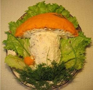 """Салат """"Подосиновик"""" с грибами - фото шаг 6"""