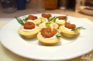 Тарталетки с творожным сыром - фото шаг 6