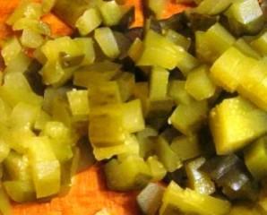Салат с фасолью отварной - фото шаг 6