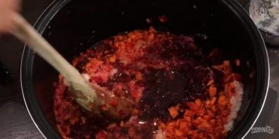 Борщевая заправка на зиму (вкусная) - фото шаг 3