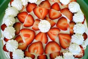 Клубничный торт со сливками - фото шаг 4