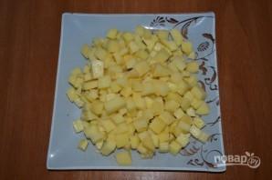 Суп рыбный из горбуши консервы - фото шаг 1