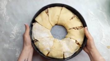 Вкусный пирог с капустой и мясом - фото шаг 4