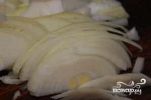 Мясо с капустой в горшочке - фото шаг 4