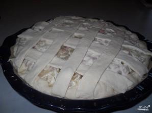 Пирог с луком и ветчиной - фото шаг 5