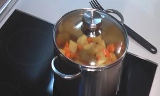 Рагу из курицы и овощей - фото шаг 4