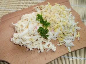 Салат из печени куриной слоями - фото шаг 4