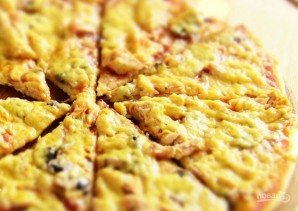 Самая простая пицца по-домашнему - фото шаг 8