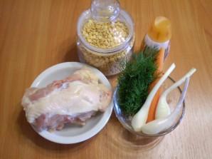 Гороховый суп без картошки - фото шаг 1