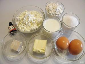 Творожное дрожжевое тесто для булочек - фото шаг 1