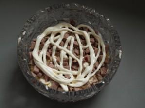 Cалат с говядиной и черносливом  - фото шаг 4