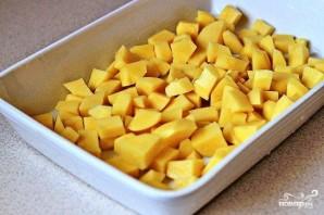 Жареный картофель с пармезаном - фото шаг 1