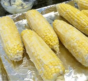 Кукуруза, запеченная с медом в духовке - фото шаг 2
