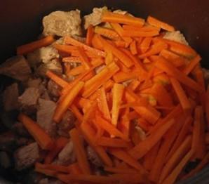 Пшеничная каша с соевым мясом и овощами - фото шаг 2
