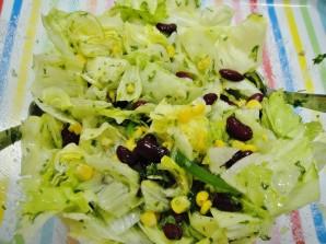 Мексиканский салат с фасолью - фото шаг 6