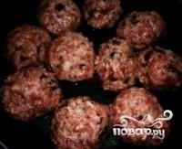 Тефтели с грибами - фото шаг 4