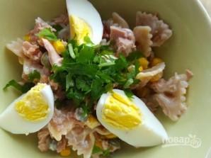 Салат с макаронами - фото шаг 4