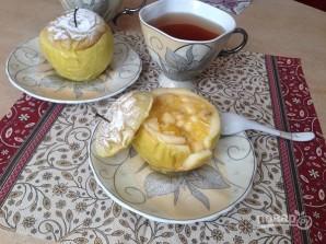 Яблоки, запеченные с джемом и бананом - фото шаг 7