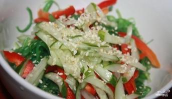 Салат с чукой - фото шаг 2