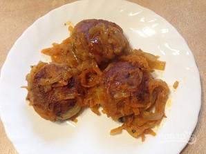 Картофельные тефтели с грибами - фото шаг 10