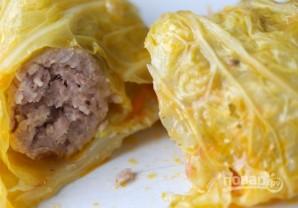 """Колбаски в капустном """"одеяльце"""" - фото шаг 6"""