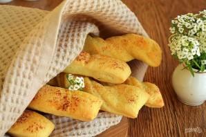 Хлебные палочки с чесноком - фото шаг 9