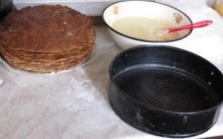 Торт Белочка - фото шаг 4