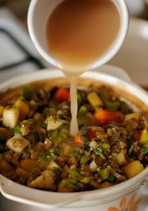 Баранина с овощами в духовке - фото шаг 3