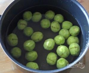 Варенье из зеленых орехов - фото шаг 2