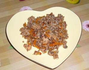 Гречка по-купечески со свининой в духовке - фото шаг 6
