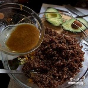 Квиноа с авокадо и сухофруктами - фото шаг 6