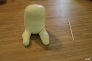 Торт в виде животного  - фото шаг 4