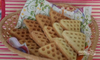 Печенье в вафельнице на газу - фото шаг 6
