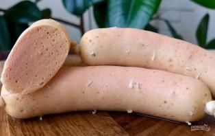Домашние молочные сосиски из куриной грудки - фото шаг 8