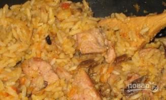 Чечевица с рисом, грибами и морковью - фото шаг 6