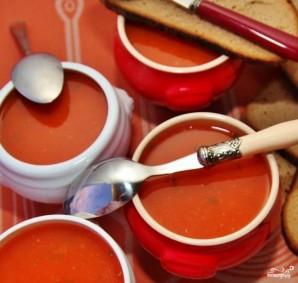 Томатный суп с мясом - фото шаг 12