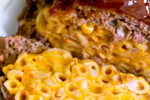 Мясной рулет с макаронами и сыром - фото шаг 8