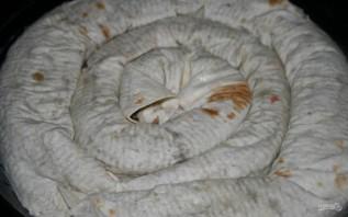 Пирог из лаваша с мясом - фото шаг 6